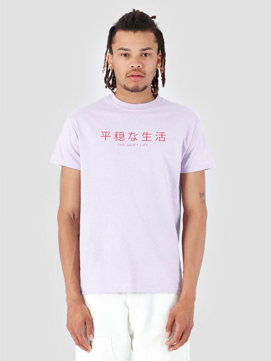 The Quiet Life Japan T-Shirt Lilac 19SPD2-2167-LIL