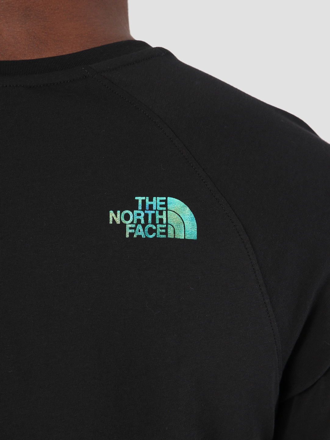 The North Face The North Face Rag Red Box T-Shirt TNFblkiridescnt T93BQOXEK