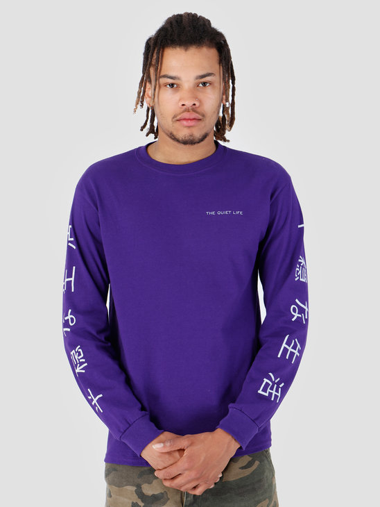 The Quiet Life Japan Long Sleeve Purple 19SPD2-2135-PUR