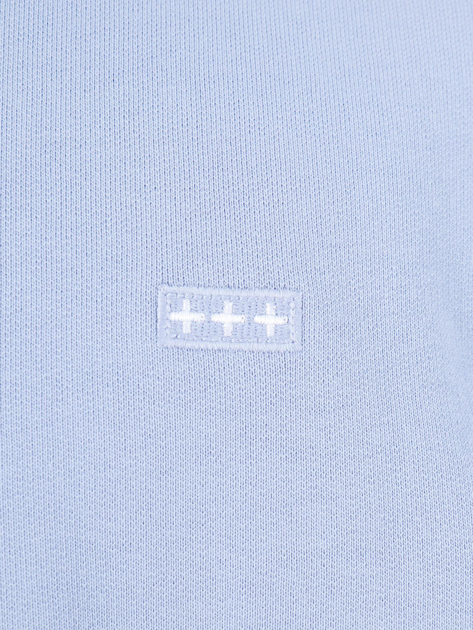 Quality Blanks Quality Blanks QB94 Patch Logo Crewneck Lilac
