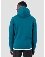 Quality Blanks Quality Blanks QB93 Patch Logo Hoodie Dark Teal