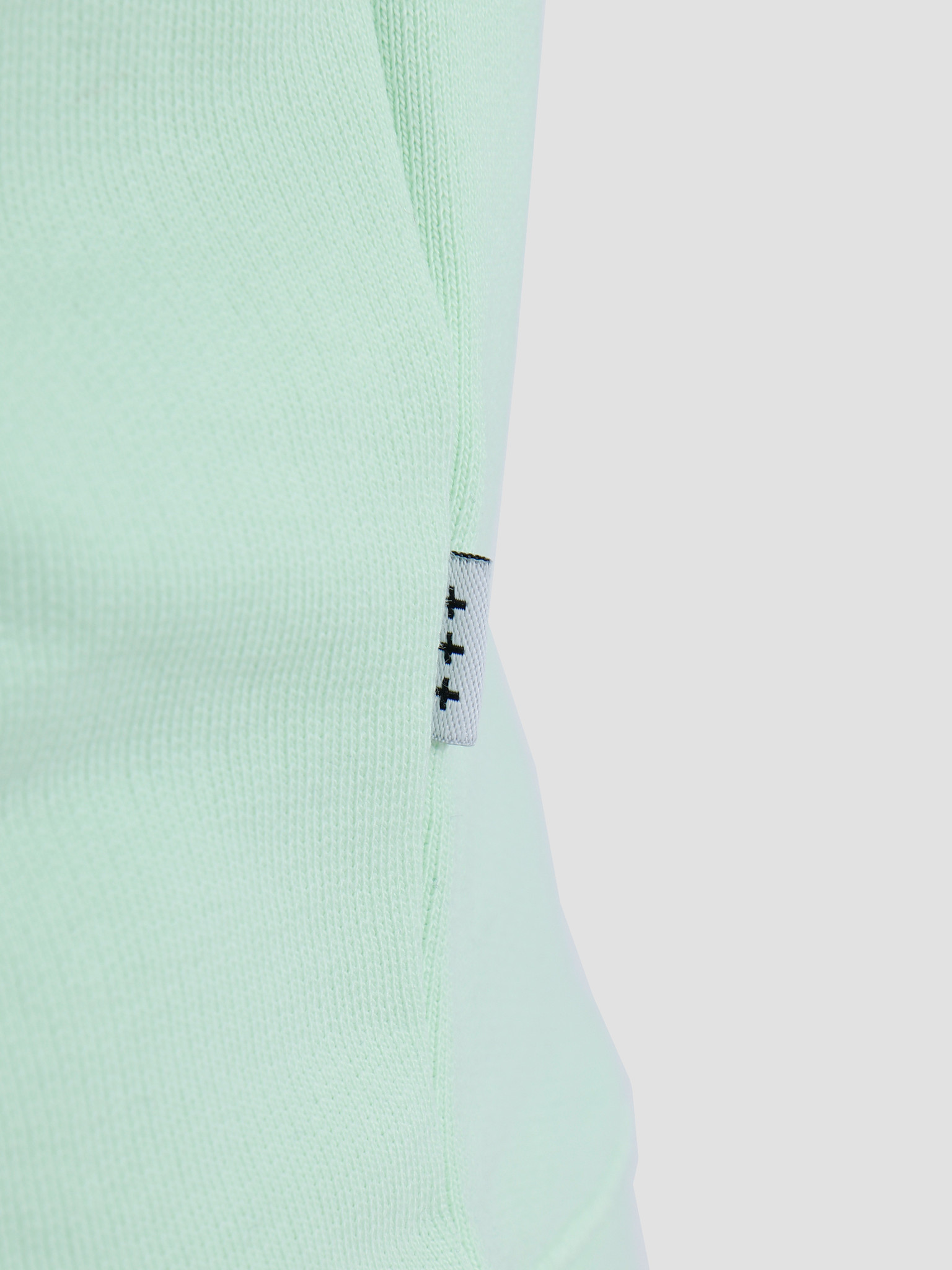 Quality Blanks Quality Blanks QB94 Patch Logo Crewneck Fresh Green