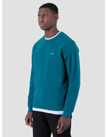 Quality Blanks Quality Blanks QB94 Patch Logo Crewneck Dark Teal