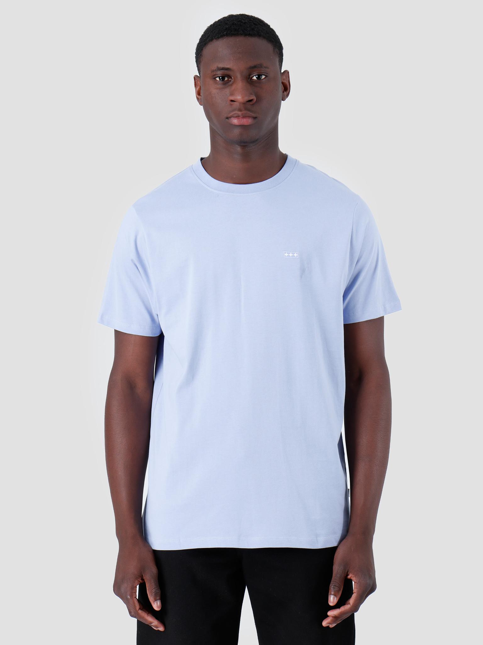 Quality Blanks Quality Blanks QB03 Patch Logo T-shirt Lilac