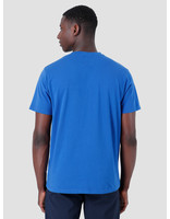 Quality Blanks Quality Blanks QB03 Patch Logo T-shirt Royal Blue
