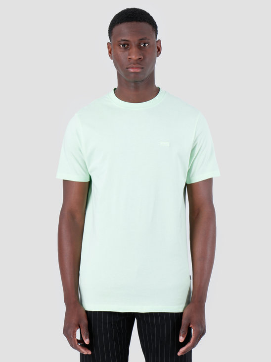 Quality Blanks QB03 Patch Logo T-shirt Fresh Green