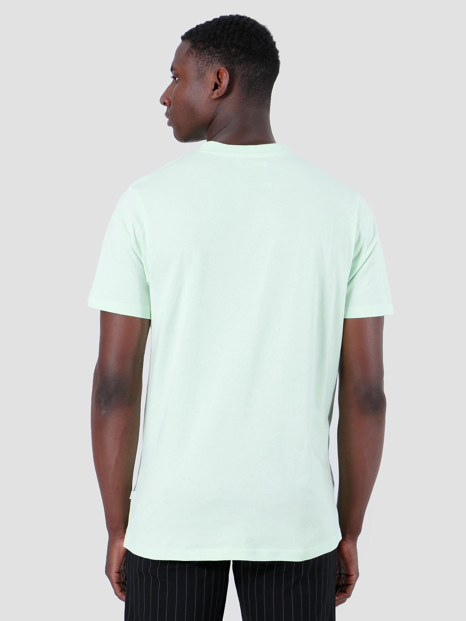 Quality Blanks Quality Blanks QB03 Patch Logo T-shirt Fresh Green