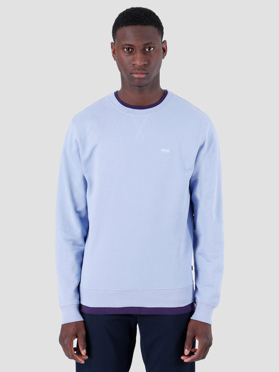 Quality Blanks QB94 Patch Logo Crewneck Lilac