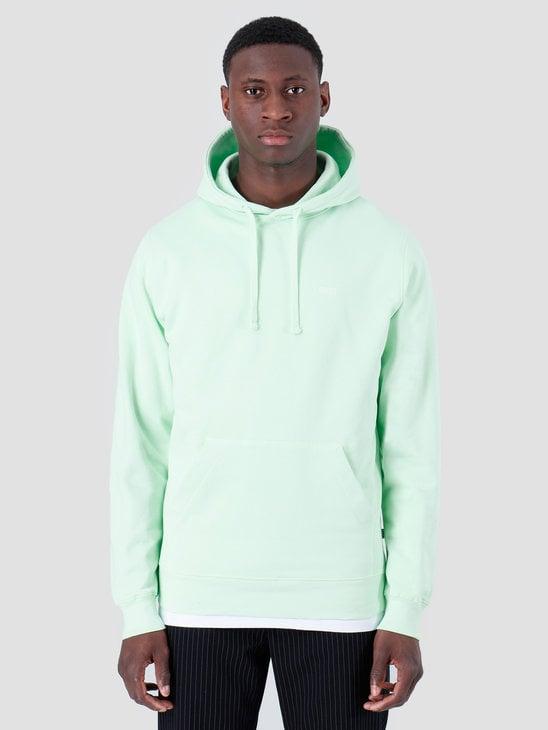 Quality Blanks QB93 Patch Logo Hoodie Fresh Green
