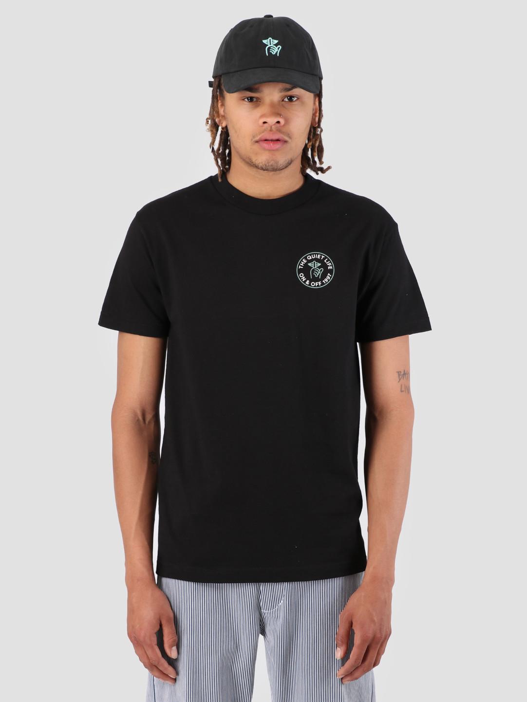 The Quiet Life The Quiet Life Shhh Circle T-Shirt Black 19SPD1-1178-BLK