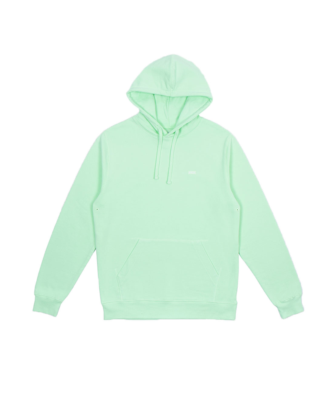 Quality Blanks QB93 Patch Logo Hoodie Fresh Green