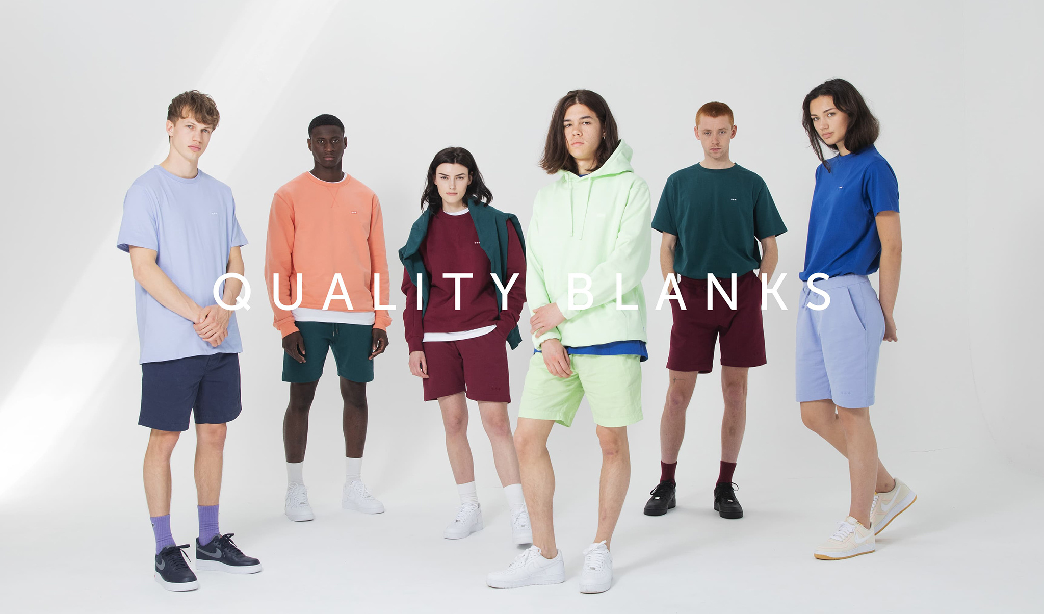 Quality Blanks SS '19 Colors