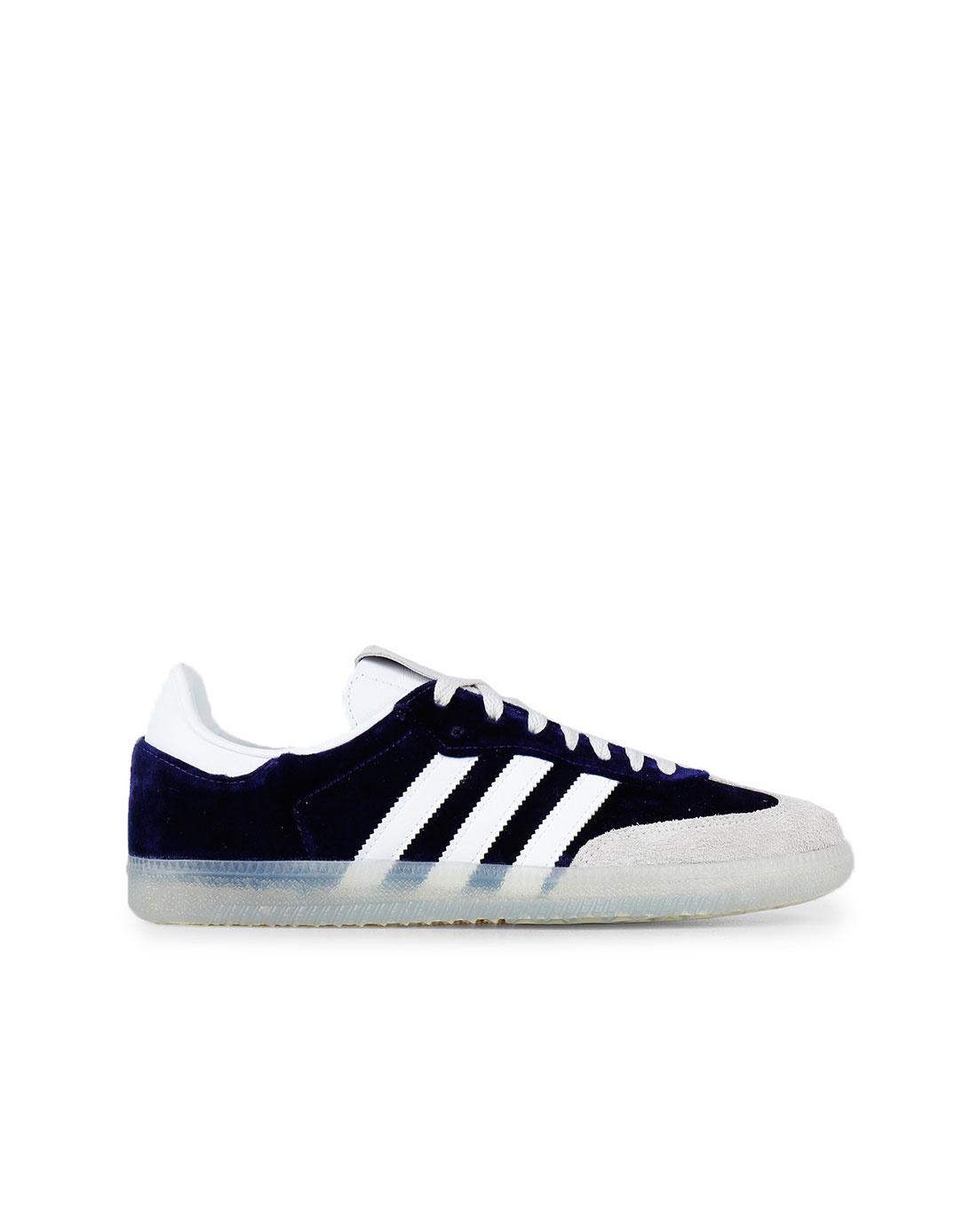 adidas Samba Og Cpurpl Ftwwht Greone DB3011