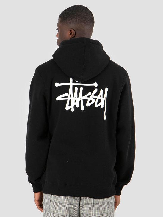 Stussy Basic Stussy Hood Black 0001