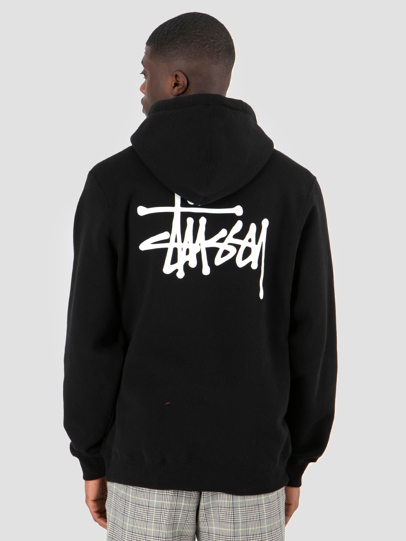 Stussy Stussy Basic Stussy Hood Black 0001