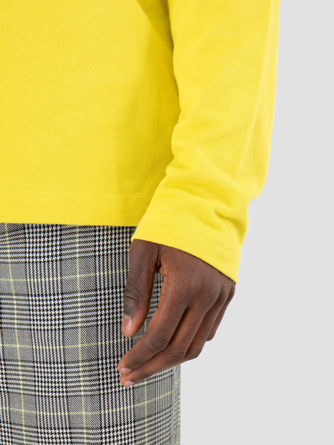 Stussy Stussy Louie Longsleeve Polo Lemon 0408