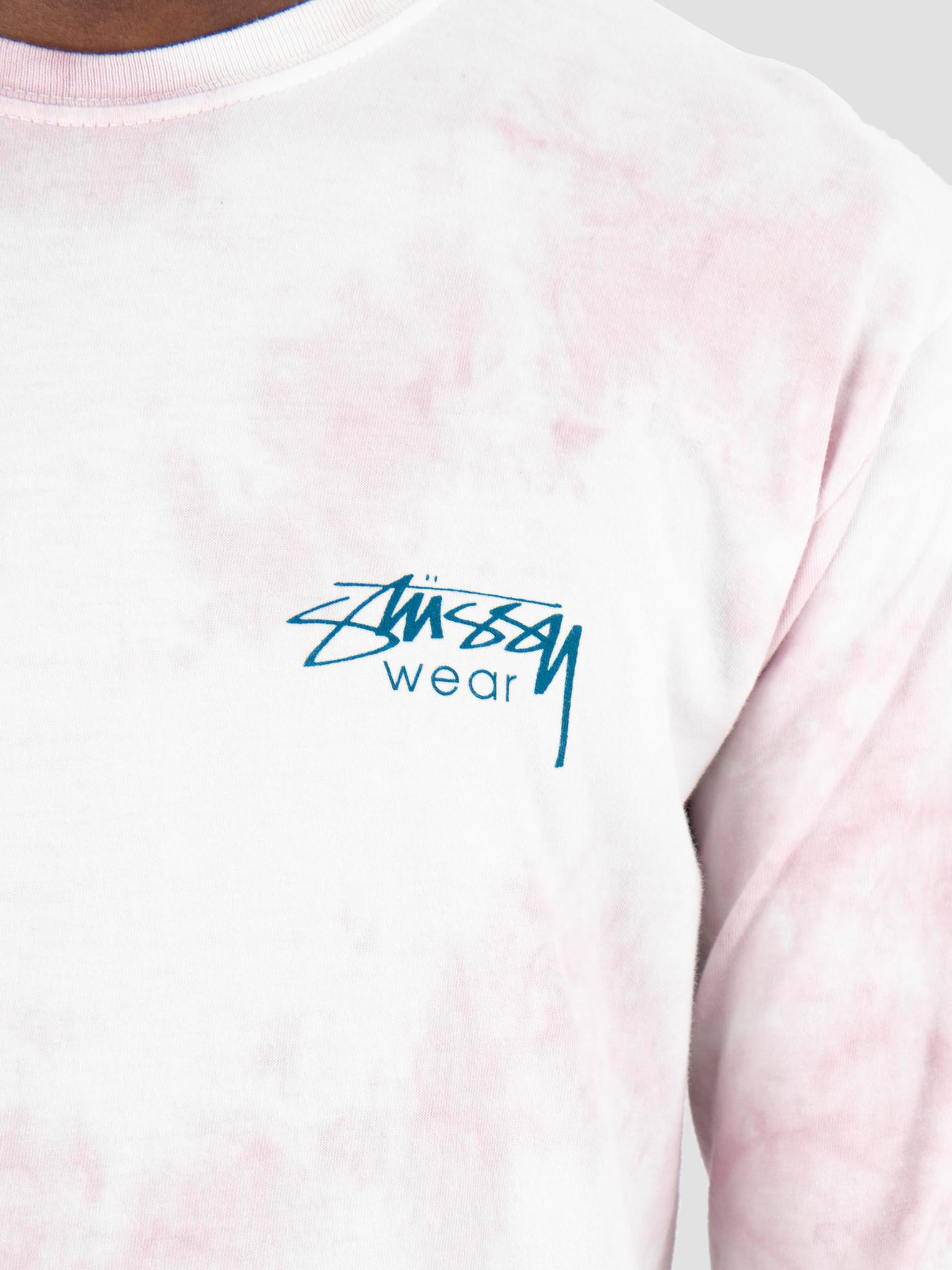 Stussy Stussy Waves Td Longsleeve  Pink 0604