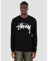 Stussy Stussy Stock Longsleeve Black 0001