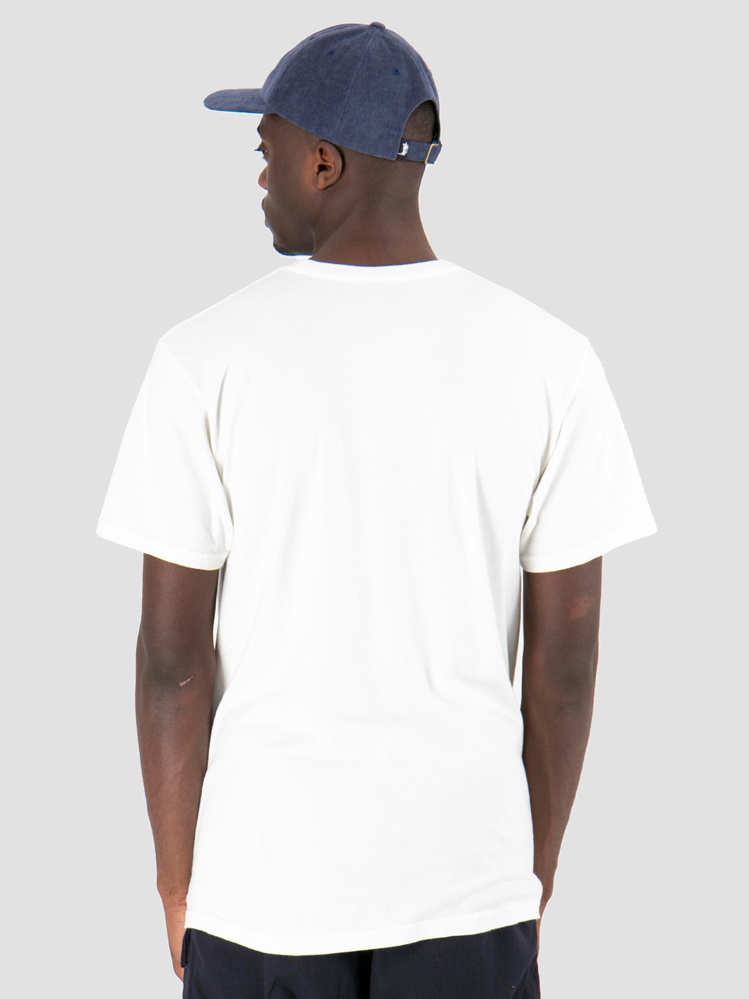 Stussy Stussy Stripes Pig Dyed T-Shirt Natural 1002