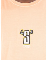 Stussy Stussy Horns Pig Dyed T-Shirt Coral 0607