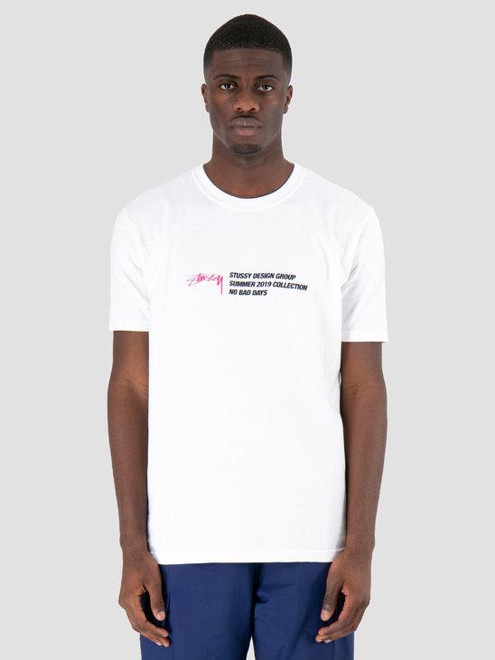 Stussy Design Group T-Shirt White 1201