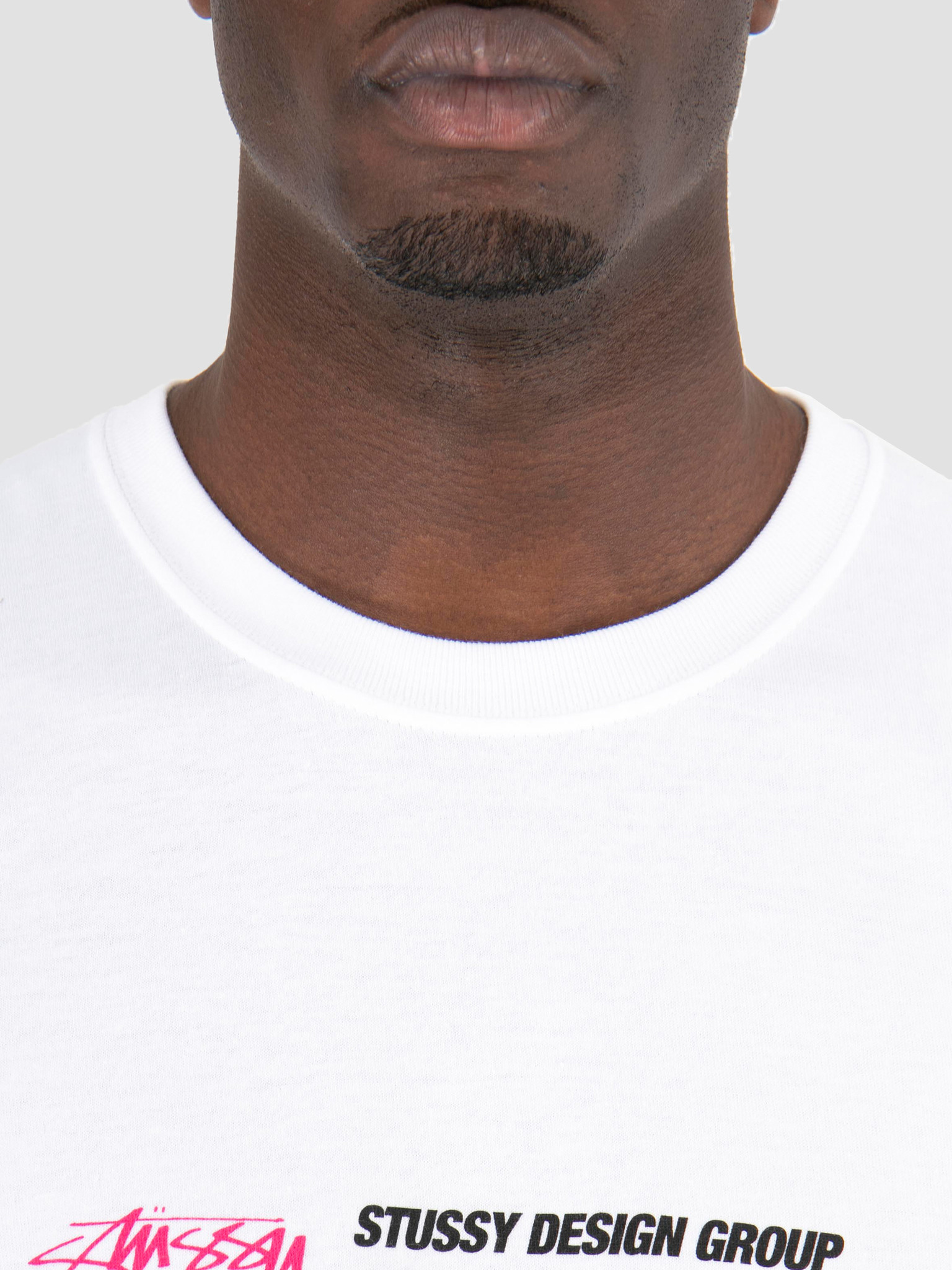 2503432cc Stussy Stussy Design Group T-Shirt White 1201