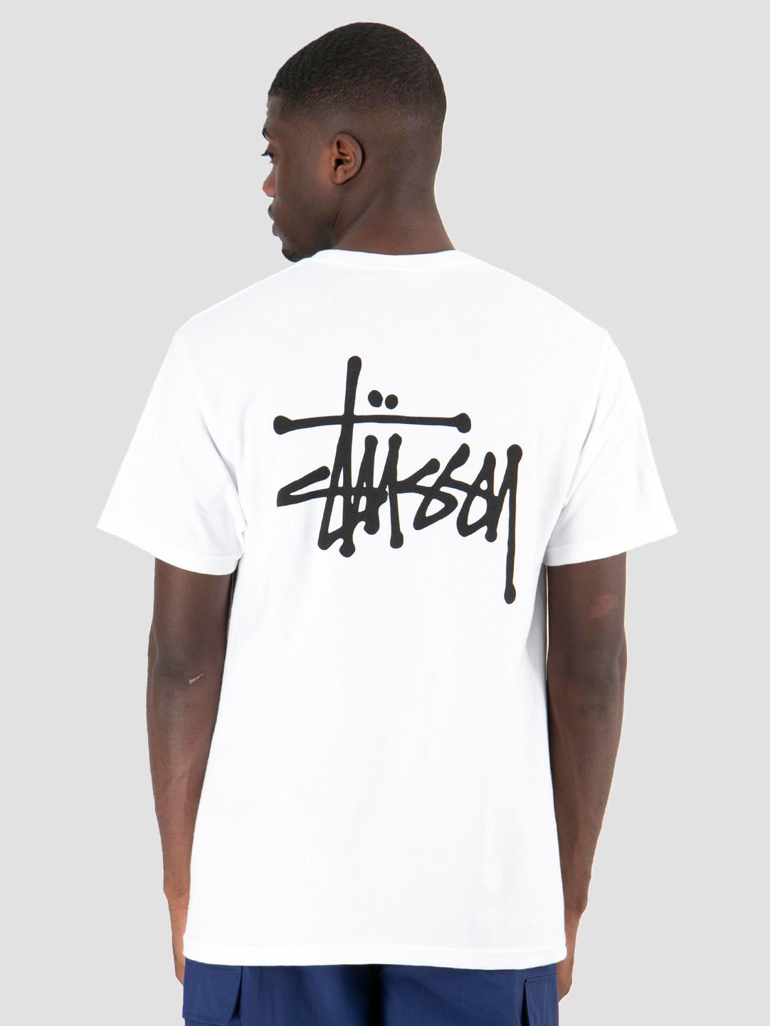Stussy Stussy Basic Stussy T-Shirt White 1201