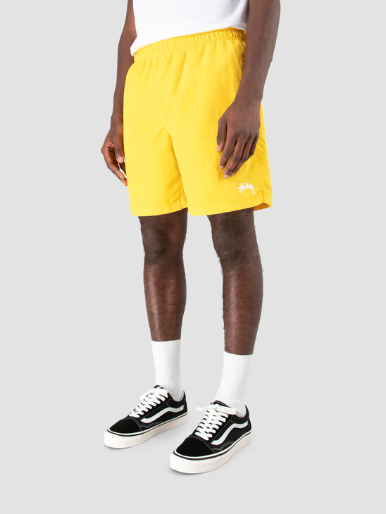 Stussy Stock Water Short Yellow 0201
