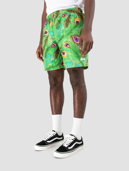 Stussy Peacock Water Short Green 0401