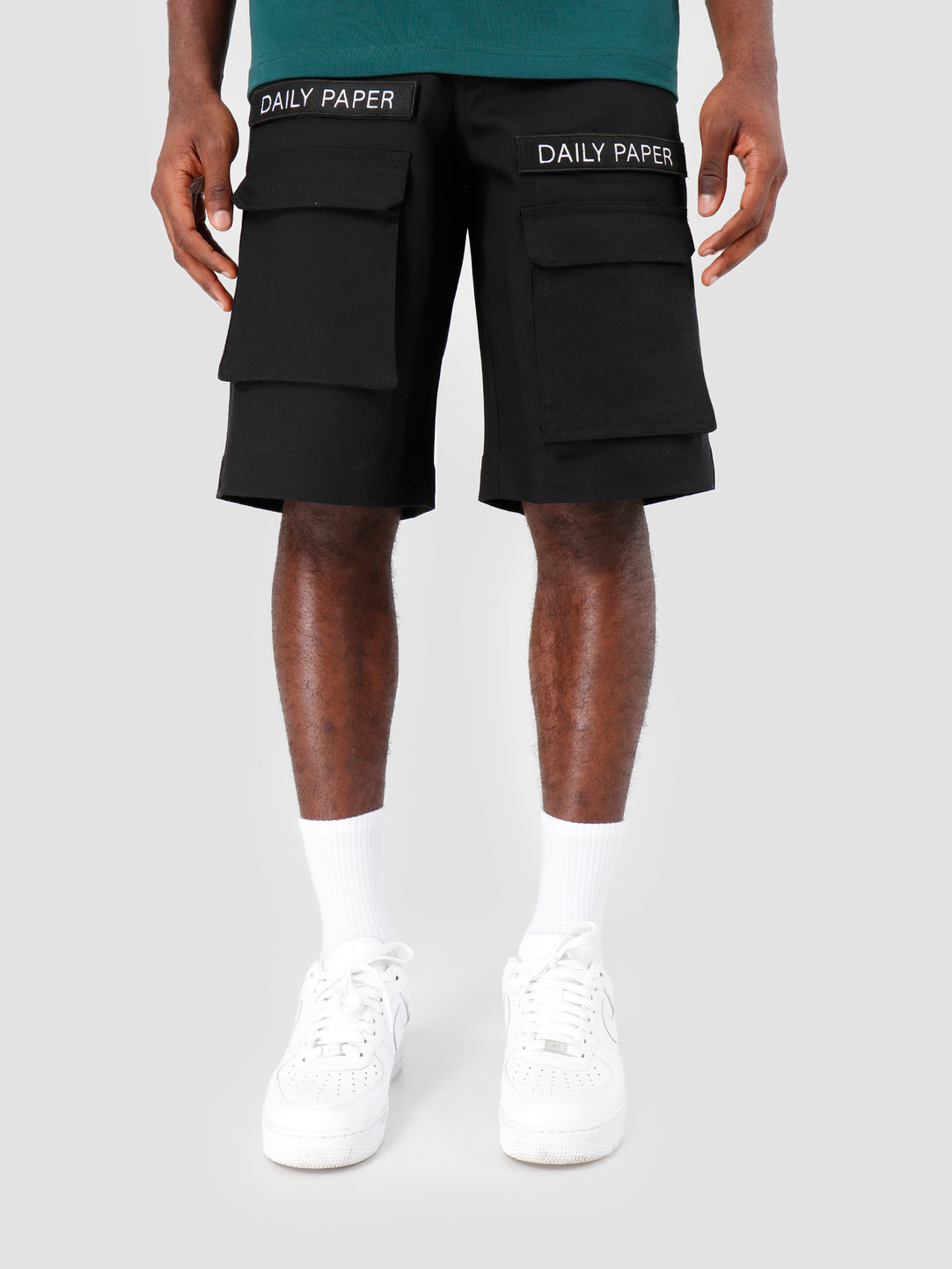 Daily Paper Daily Paper Resort Cargo Short Black 19R1SH01-02