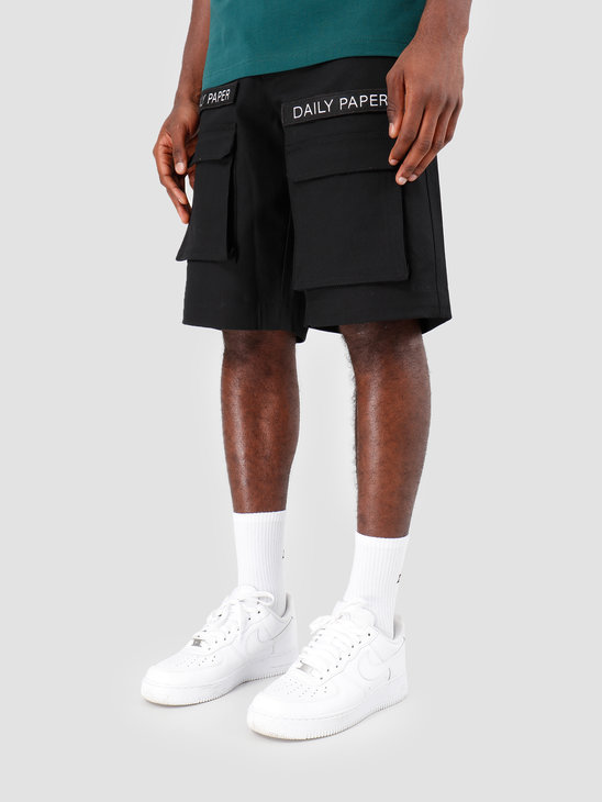 Daily Paper Resort Cargo Short Black 19R1SH01-02
