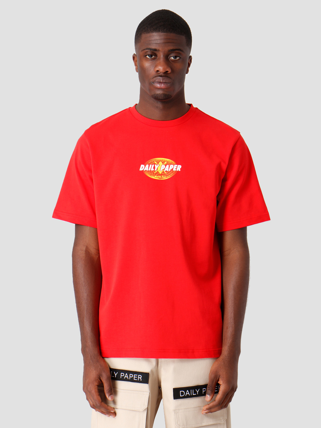 Daily Paper Daily Paper World Tour T-shirt Red 19SR1TS02-03