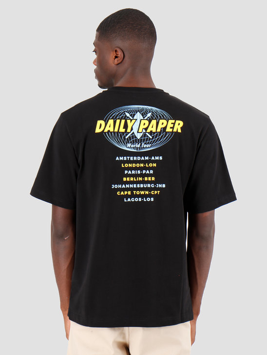 Daily Paper World Tour T-shirt Black 19SR1TS02-01