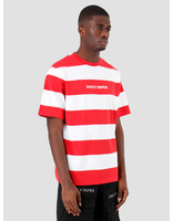 Daily Paper Daily Paper Resort Striped T-shirt Red White 19R1TS02-01