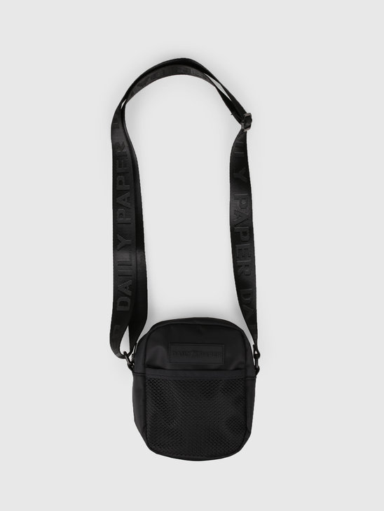 Daily Paper Shoulder Bag Black 19R1AC01-01
