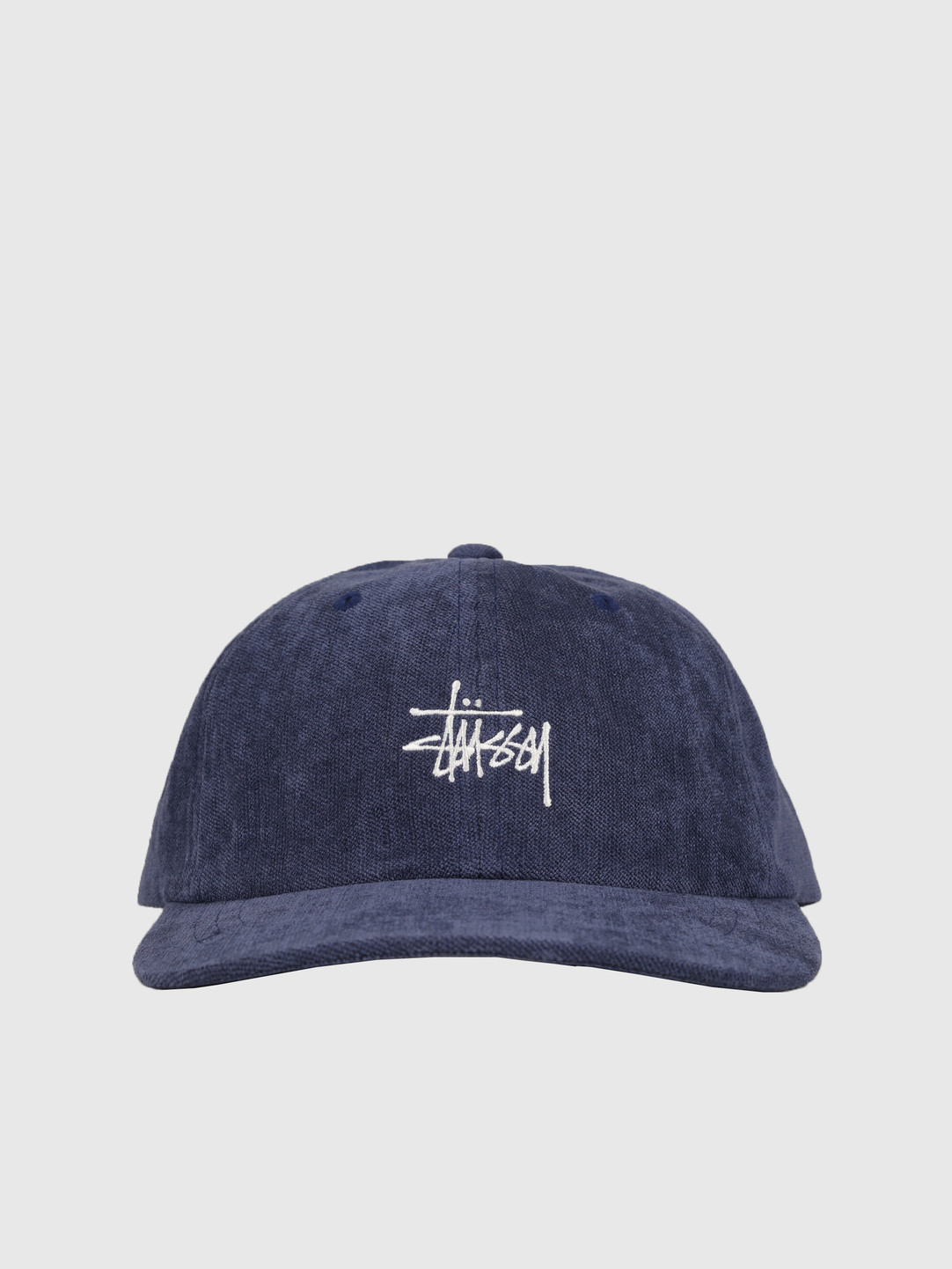 Stussy Stussy No Wale Cord Low Pro Cap Navy 0806