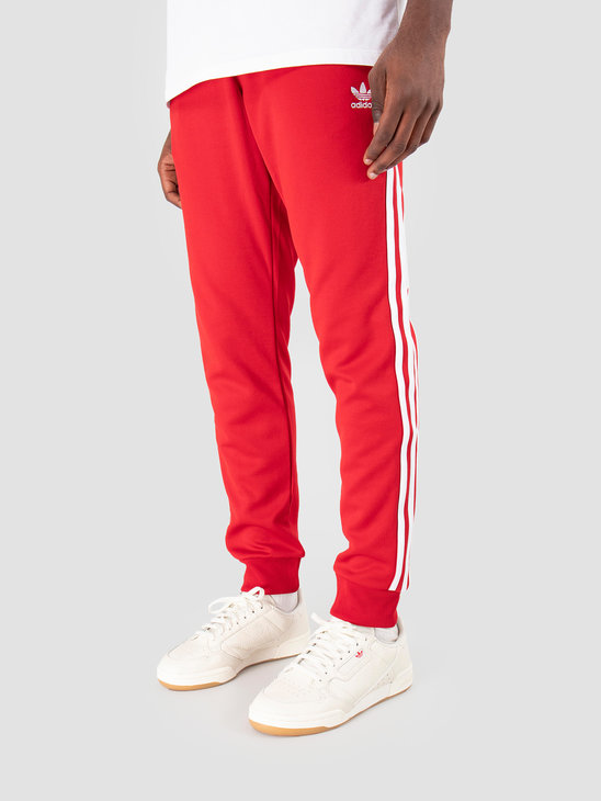 adidas SST Track Pant Power red DV1534