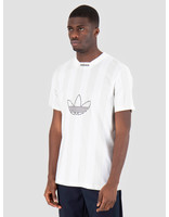 adidas adidas Es Ply Jersey White Greone DZ1553