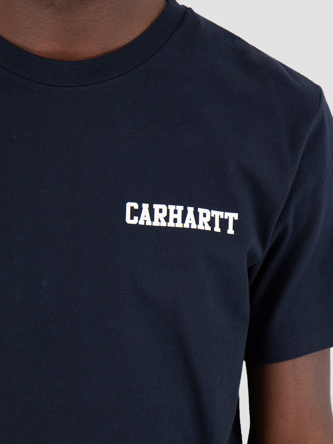 Carhartt WIP Carhartt WIP College Script T-Shirt Dark Navy I024806