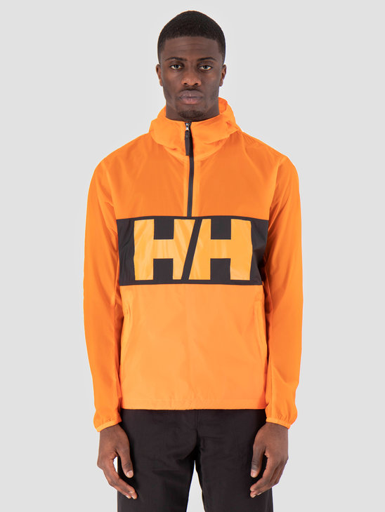 Helly Hansen Active Windbreaker Anorak 282 Blaze Orange 53280282