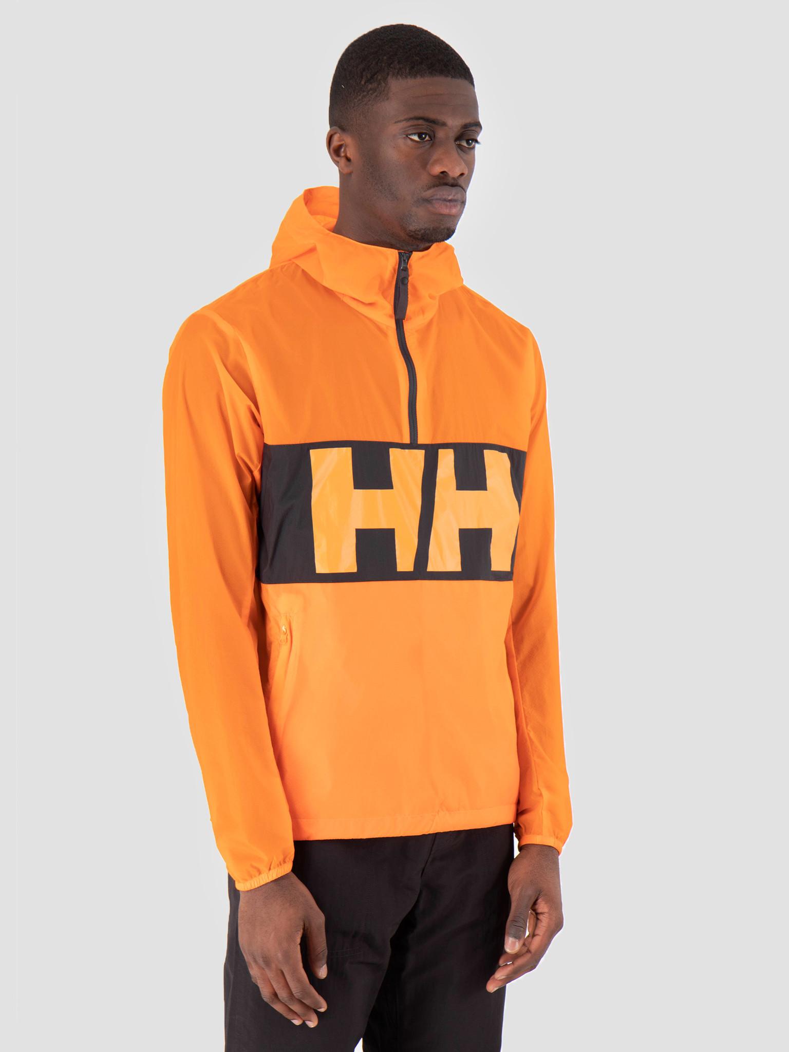 Helly Hansen Helly Hansen Active Windbreaker Anorak 282 Blaze Orange 53280282
