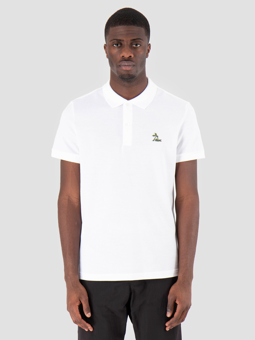 Lacoste Lacoste 1Hp3 Men'S T-Shirt Polo 03 White Ph4258-91