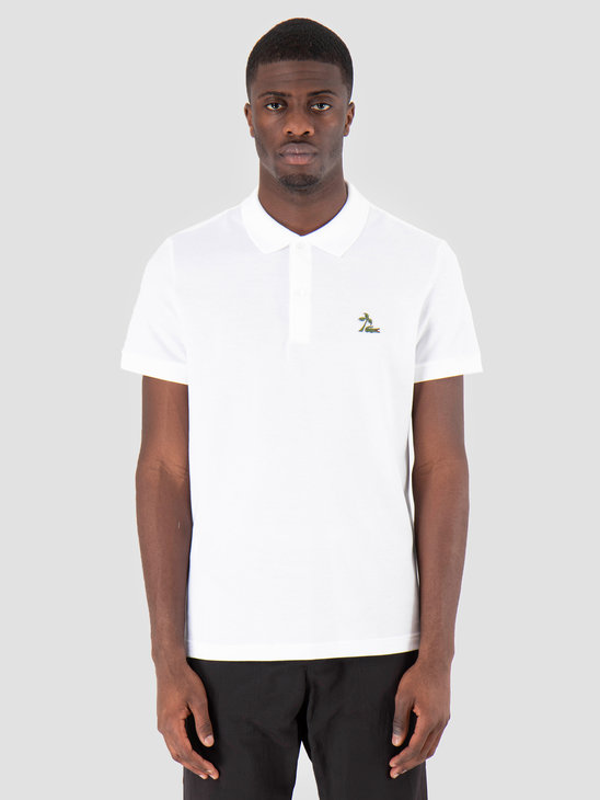 Lacoste 1Hp3 Men'S T-Shirt Polo 03 White Ph4258-91