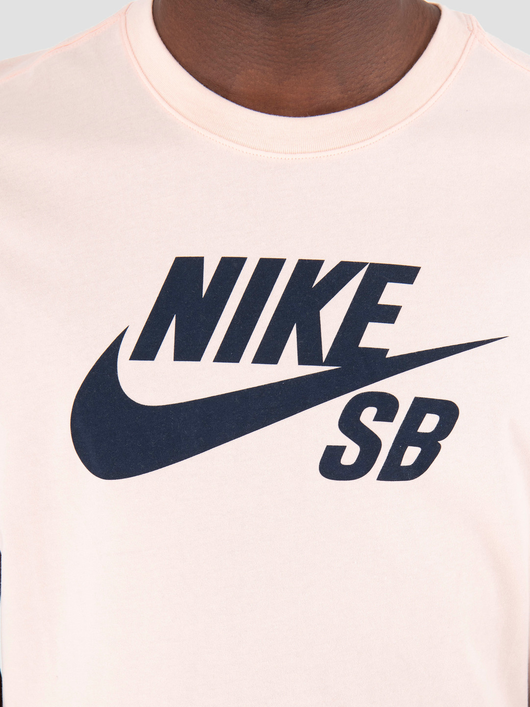 Nike Nike SB Dry T-Shirt Defect Logo Washed Coral Obsidian AR209-664