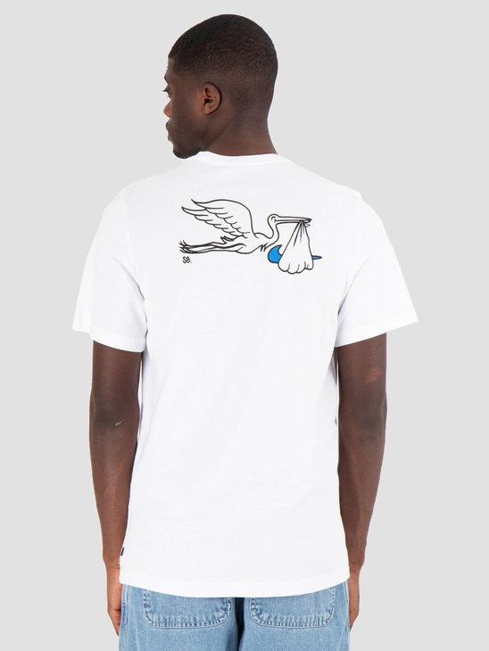 Nike SB T-Shirt Stork White BV0103-100