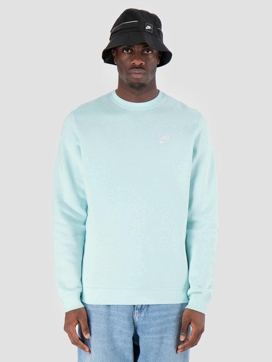 Nike Sportswear Crew Teal Tint White 804340-336