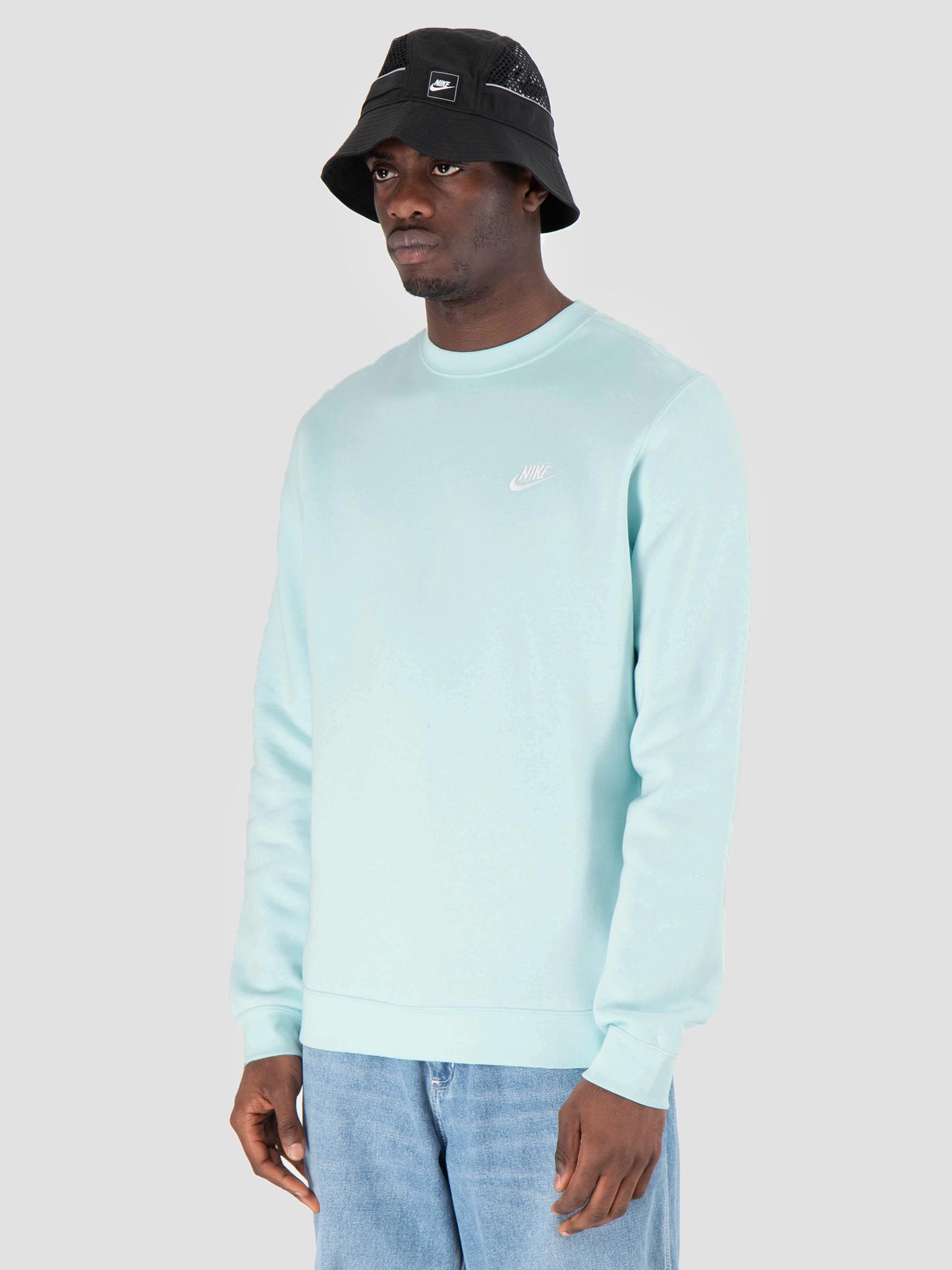 Nike Nike Sportswear Crew Teal Tint White 804340-336