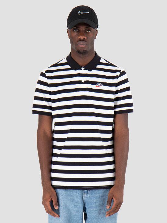 Nike Script Polo Black BQ9074-010