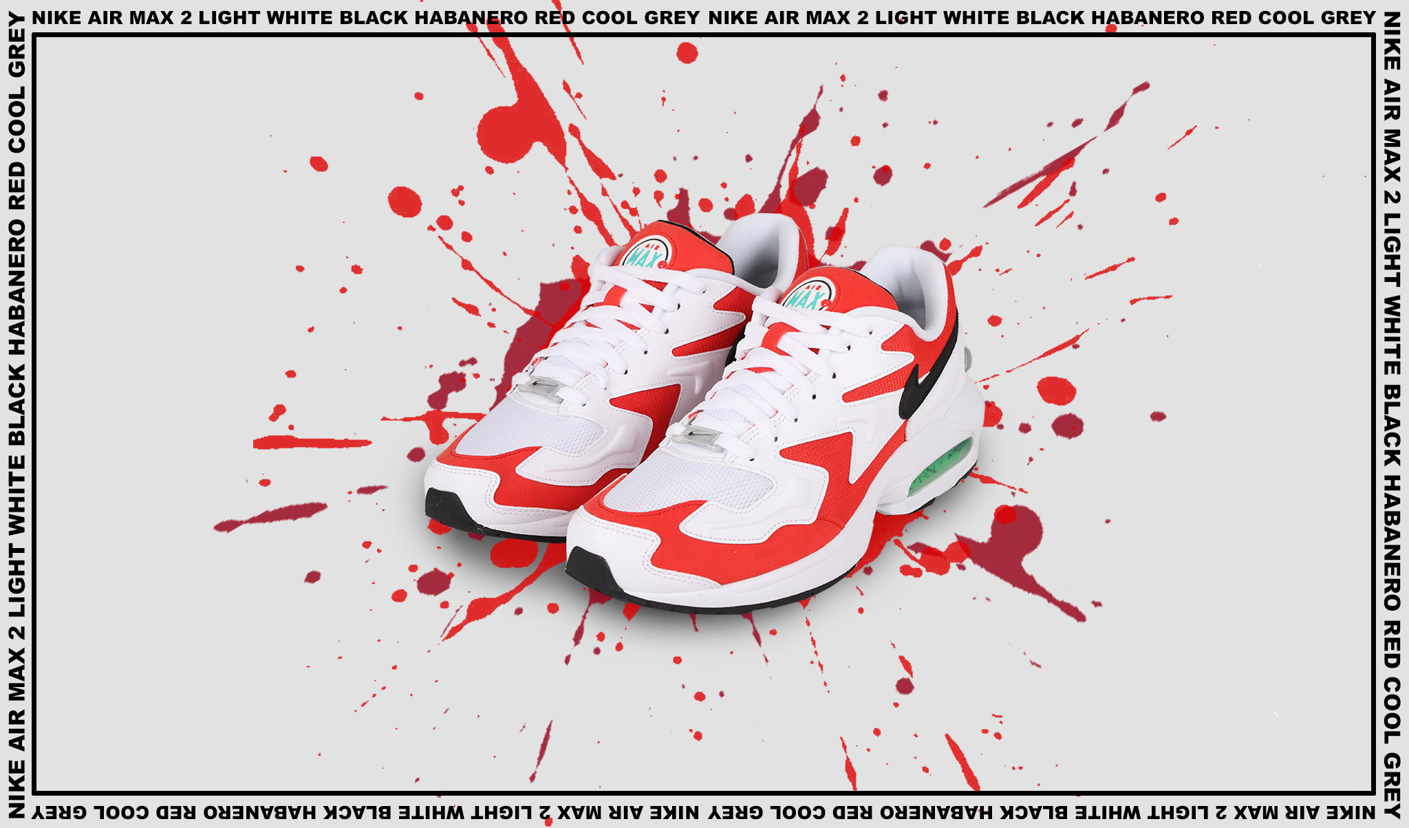 Nike Air Max 2 Habanero Red