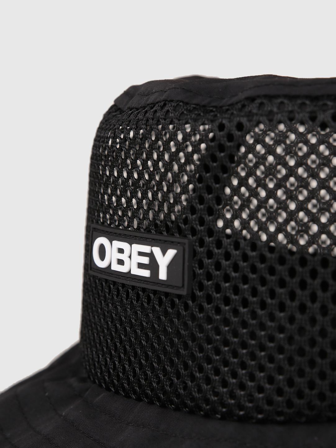 Obey Obey Depot Bucket Hat Black 100520022-BLK
